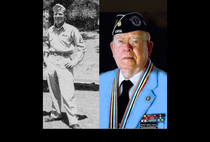 Staff Sergeant Eugene Dixon, USMC,