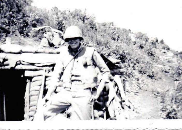 PFC Youngsman, July 1952, Korea