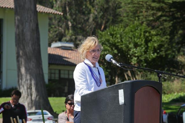 Nancy Bechtle speaking