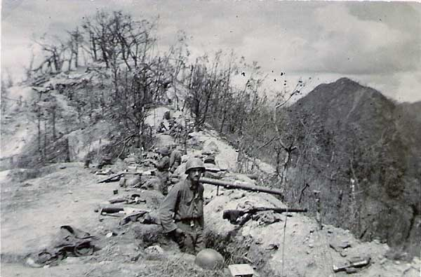 This is what Bloody Ridge looked like on September 4, 1951
