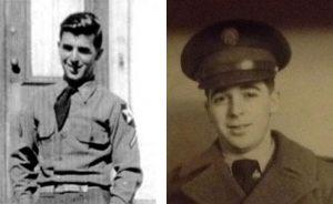 two portraits of Robert Graham in uniform