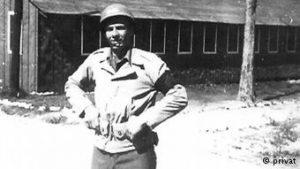 image of 1st Lieutenant Weber in Korea