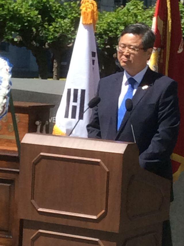Consul General speaks