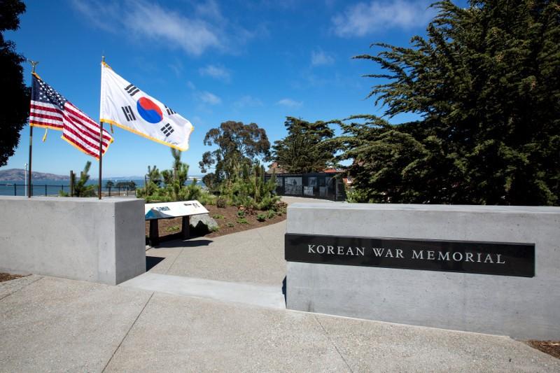 photo of memorial entrance