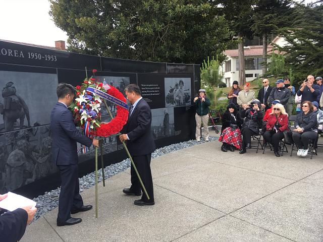 additional photo of wreath ceremony