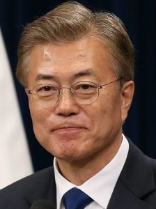 photo of President Moon