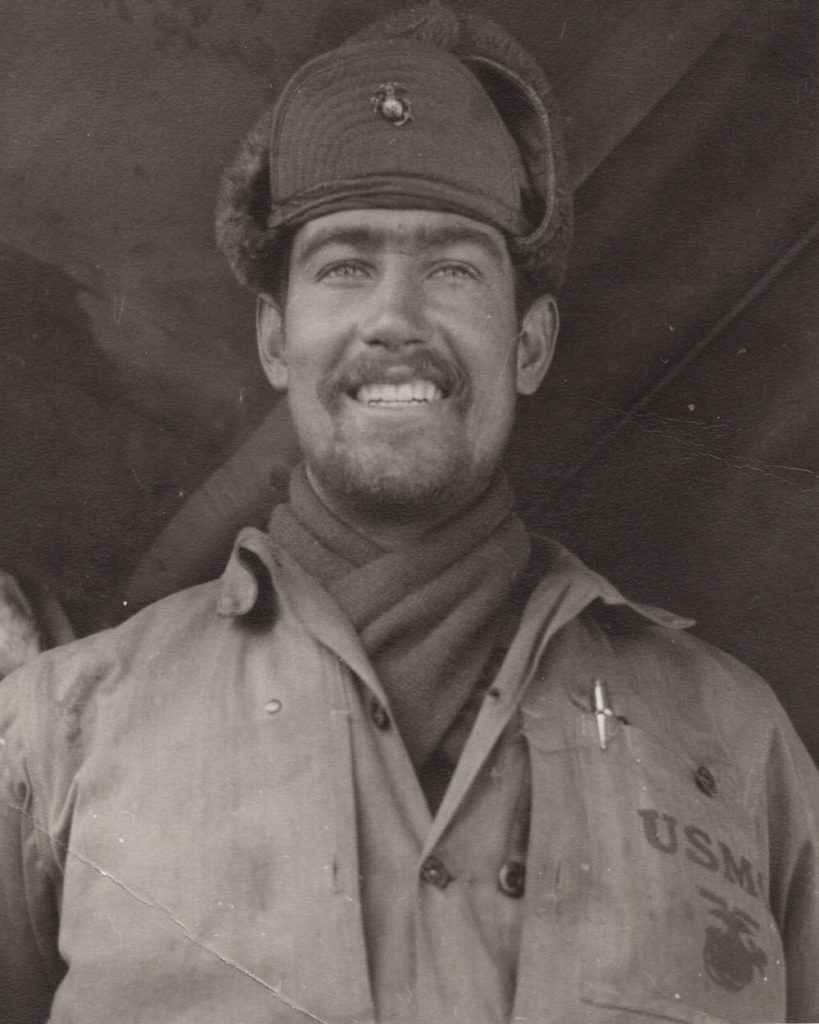 photo of young Don Barker smiling in Korea