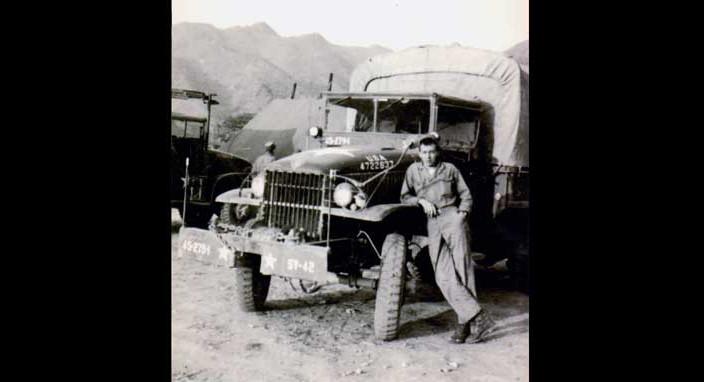 Will Rogers, U.S. Army, 1952, Korea
