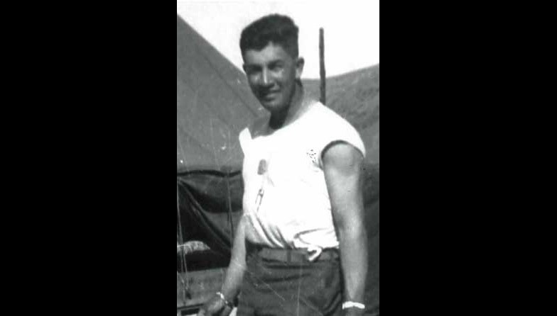 PFC Loren Anderson, USMC, July 1952, Korea