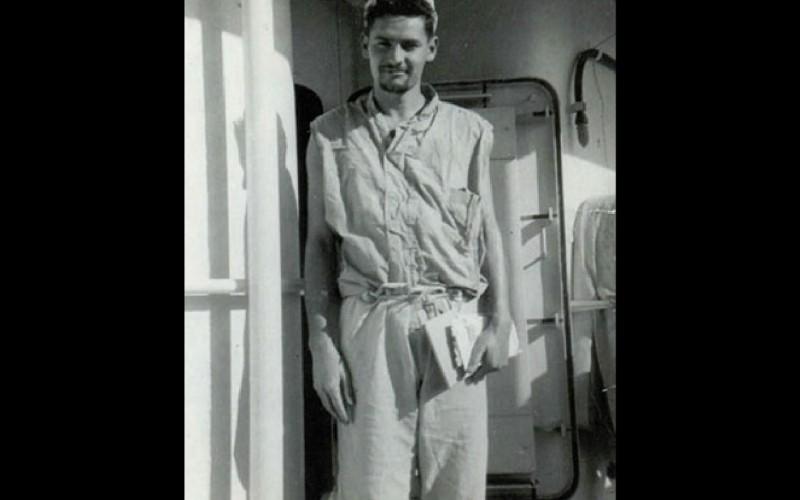 Antonio Ybarra, U.S. Navy, 1952