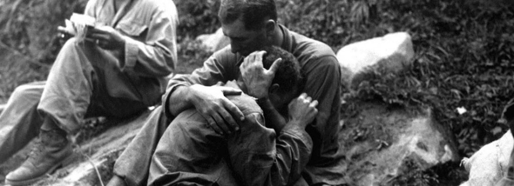 Soldier Consoling Buddy