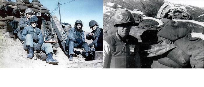 Eldon Koon, Korea, 1952