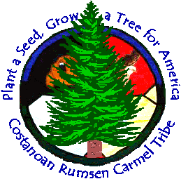 Costanoan Rumsen Carmel Tribal Seal