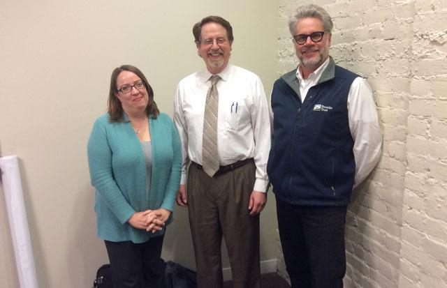photo of Presidio Trust design team