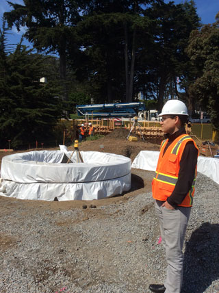 photo of Construction Manager Mitch Magoshi