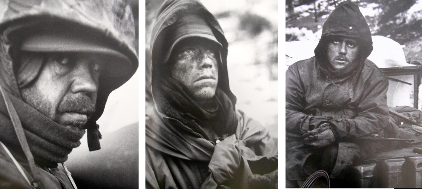 three individual photos from Life Magazine