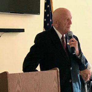 photo of Denny Weisgerber speaking