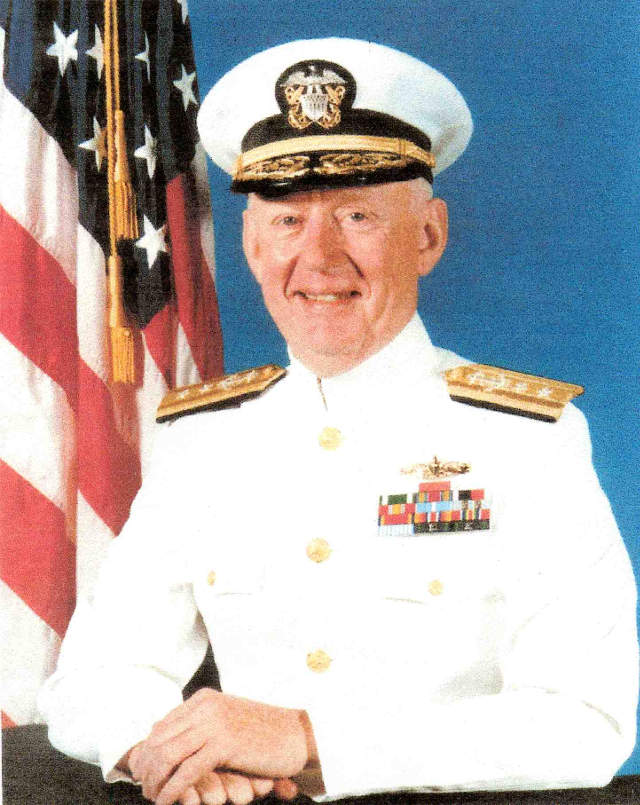 portrait of Rear Admiral Gorman